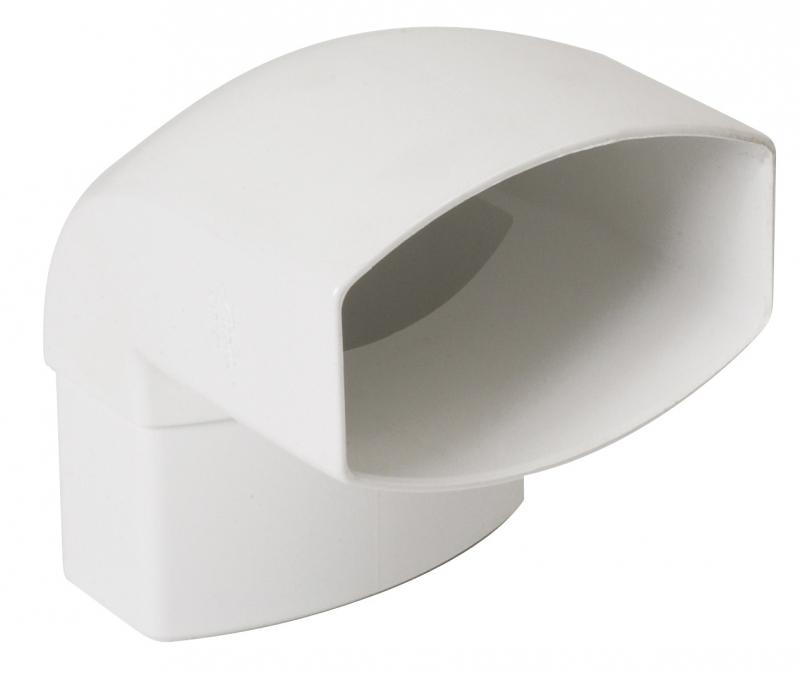 coude 87 30 m le femelle ovation coloris blanc. Black Bedroom Furniture Sets. Home Design Ideas