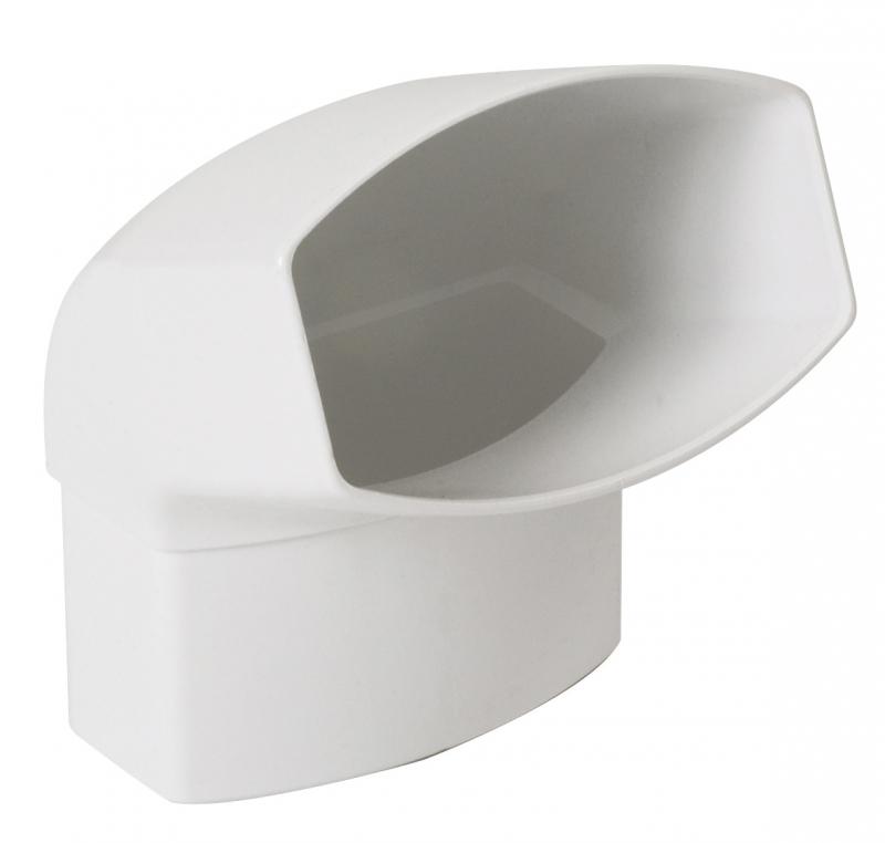 coude 67 30 m le femelle ovation coloris blanc. Black Bedroom Furniture Sets. Home Design Ideas