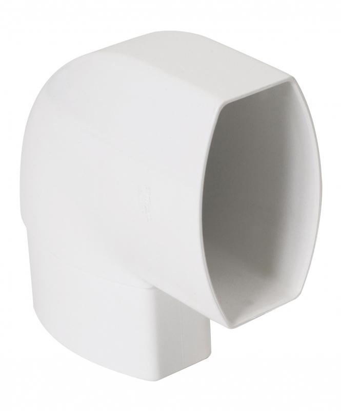 coude 90 changement d orientation ovation coloris blanc. Black Bedroom Furniture Sets. Home Design Ideas