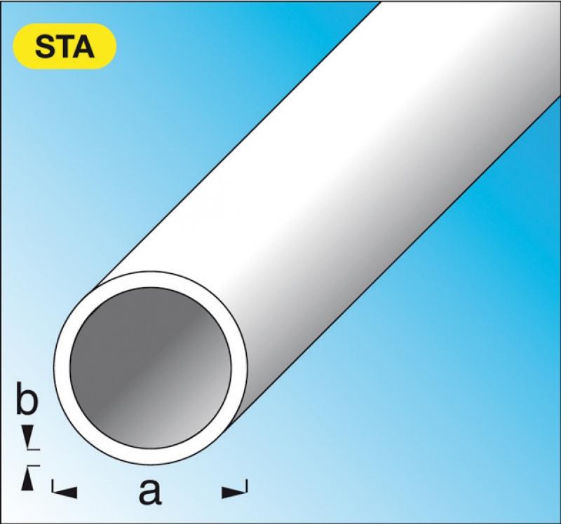 tube rond acier lamin chaud 20 mm p 1 25 mm lg 1 m. Black Bedroom Furniture Sets. Home Design Ideas