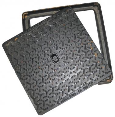 regard hydraulique cadre carr 700 x 700 mm tampon 601. Black Bedroom Furniture Sets. Home Design Ideas