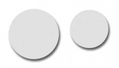 Cache vis adh sif blanc 15 mm blanc cond 100 - Cache vis blanc ...