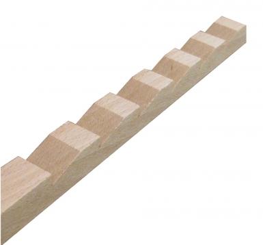 cremaillere bois hetre longueur de 2
