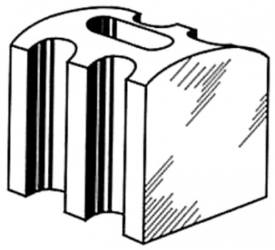pontet supports d 39 onde plastique mod le renforc 177x51 mm cond 20 prix au blister. Black Bedroom Furniture Sets. Home Design Ideas