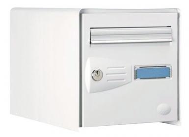 bte aux lettres masterbox df acier laqu blc dim 302x300x410 ser ptt. Black Bedroom Furniture Sets. Home Design Ideas