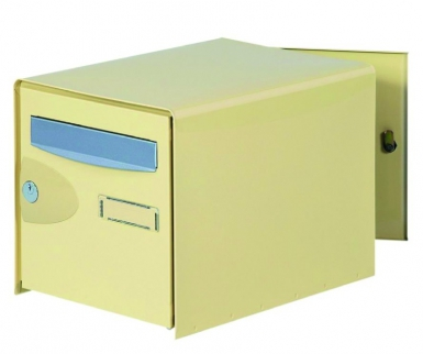 bte aux lettres probox df acier laqu beige lxhxp 302x300x410 serrure ptt. Black Bedroom Furniture Sets. Home Design Ideas