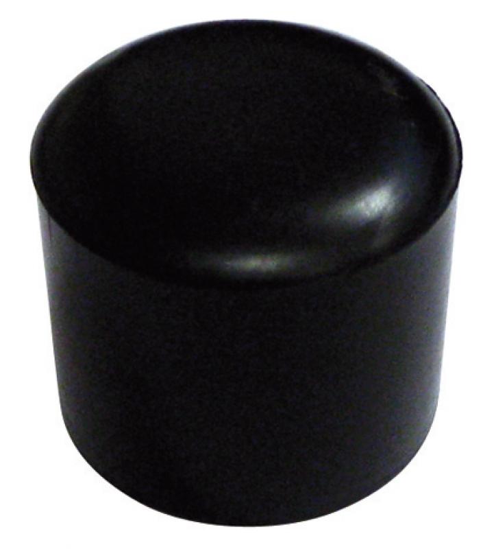 embout ext rieur pour tube rond caoutchouc noir 12 mm vrac. Black Bedroom Furniture Sets. Home Design Ideas