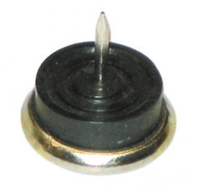 patins amortisseur pointe nickel caoutchouc 25 mm vrac. Black Bedroom Furniture Sets. Home Design Ideas