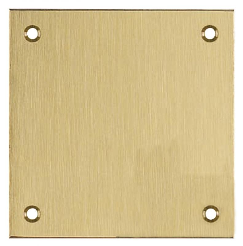 Plaque laiton bross mat 300x70 np 6 trous de fixation - Plaque de laiton ...