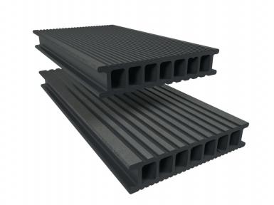 lame composite twinson pour terrasse ou brise vue l x l x ep 400 x 14 x 2 8 cm gris galet. Black Bedroom Furniture Sets. Home Design Ideas