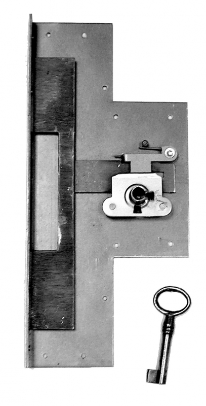 serrure pour abattant 722 axe 70 mm laiton. Black Bedroom Furniture Sets. Home Design Ideas