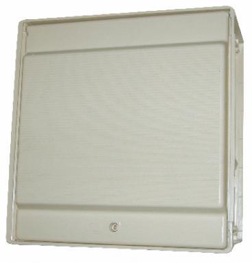 Admirable coffret de comptage d'eau polyester armé fibre de verre - dim HY-65