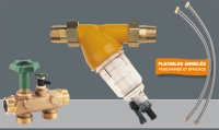 kit de raccordement adoucisseur DN 25 : by-pass + filtre Uni...