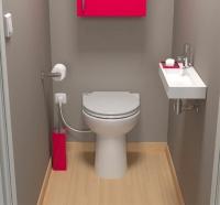 broyeur + WC