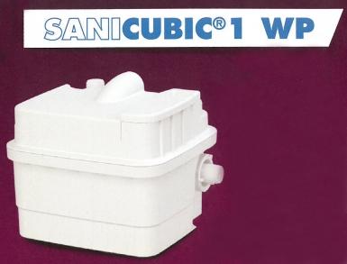 bac de relevage sanicubic 1 wp tanch it renforc e ip68 refoulement horizontal 110 m vertical. Black Bedroom Furniture Sets. Home Design Ideas