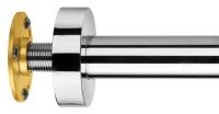 bras de douche - L 300 mm - chromé