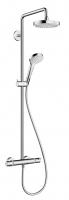 colonne Showerpipe Croma Select S 180 - chromé