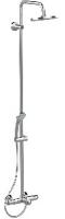 colonne bain/douche Idealrain Eco - H: 105 cm, chromé