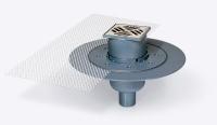 siphon de sol ABS - sortie verticale Ø 50 mm - débit 0,8 L...