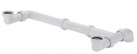 tubulure articulée pour bac décalé - polypro. blanc - 1 p...
