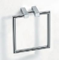 porte serviette anneau - Metric - chromé