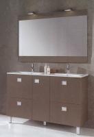 meuble Kerlan 120 cm (H 72,5 cm / P 46 cm) - 1 porte, 4 tiro...