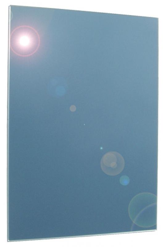 Miroir rectangulaire argenture plastifi e bord poli for Argenture miroir
