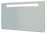 miroir Reflet Sens 50 cm - éclairage horizontal LED - cadre...