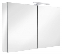 armoire de toilette Ice Box - largeur 120 cm - 2 portes