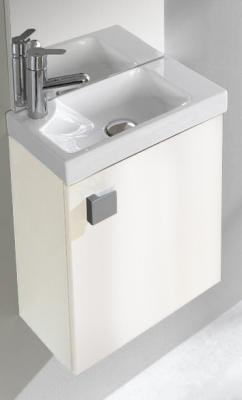 salle de bain meuble lave main meuble avec lave mains adak 40 cm h 55 5 cm p 23 5 cm. Black Bedroom Furniture Sets. Home Design Ideas