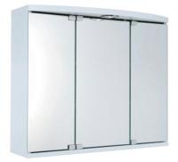 armoire toilette Maxi 45 en mélaminé blanc - LxHxP: 650x55...