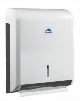 """distributeur d""""essuie-mains avec serrure - ABS blanc"""