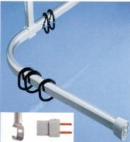 barre coudée Spirella-Ova - section 30x17 mm - 170x70 cm - ...