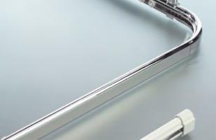 barre rectangulaire Ova-Cabine - section 30x17 mm - 70x80 cm...