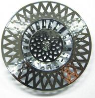 grilles universelles Ø 70 - ABS chromé - par 2 pièces sou...