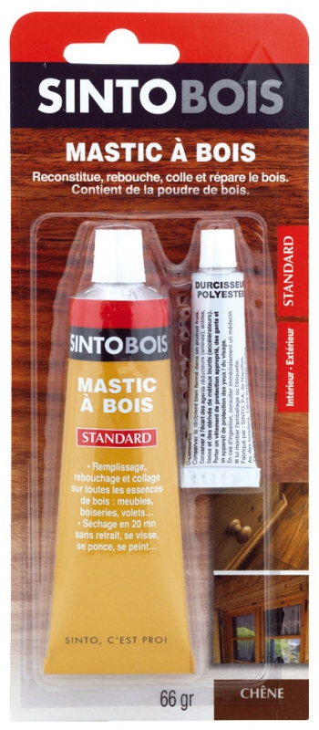 mastic bois sintobois standard ch ne durcisseur tube. Black Bedroom Furniture Sets. Home Design Ideas