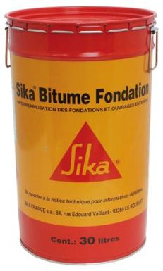 solution sika bitume fondation pour imperm abilisation. Black Bedroom Furniture Sets. Home Design Ideas