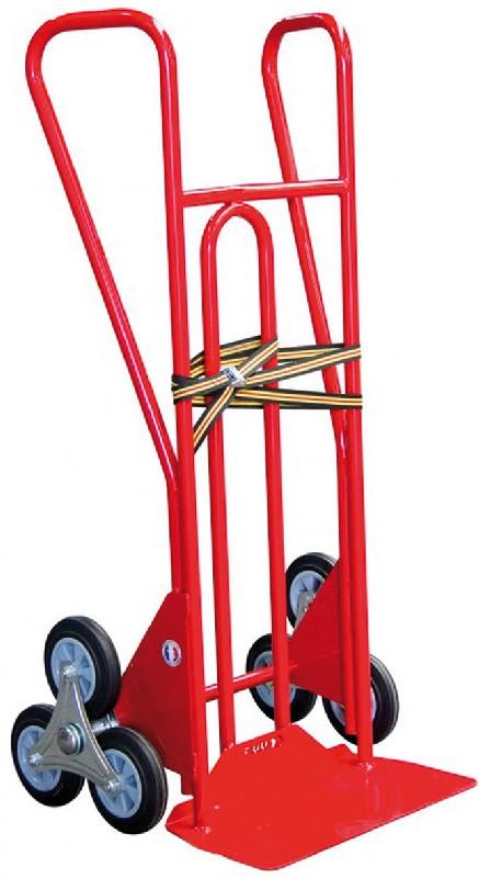 diable escalier 3 roues 250 kg roues caoutchouc pelle 450x180. Black Bedroom Furniture Sets. Home Design Ideas