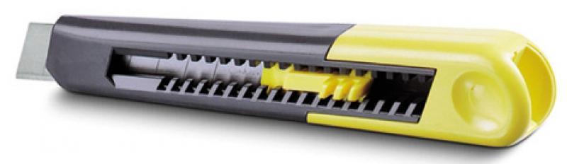 cutter synth tique sm lames auto cassantes 9 mm long 130 mm. Black Bedroom Furniture Sets. Home Design Ideas