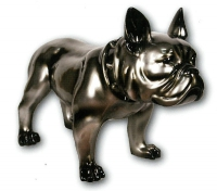 sculpture Bouledogue - H 60 cm