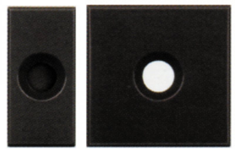 sortie de fil 1 module pour fil maxi 9 mm finition. Black Bedroom Furniture Sets. Home Design Ideas