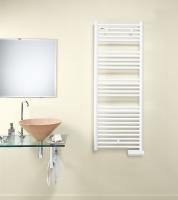 radiateur sèche-serviettes Atoll blanc - régul.multi-pos. ...