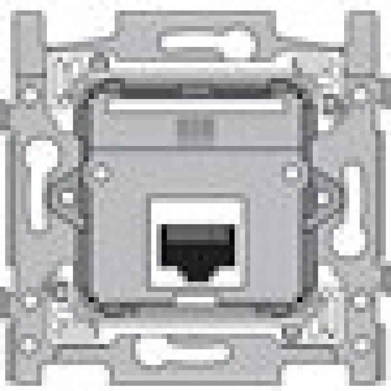 socle 1xrj45 utp cat 5e ex cution plate pour fix vis. Black Bedroom Furniture Sets. Home Design Ideas