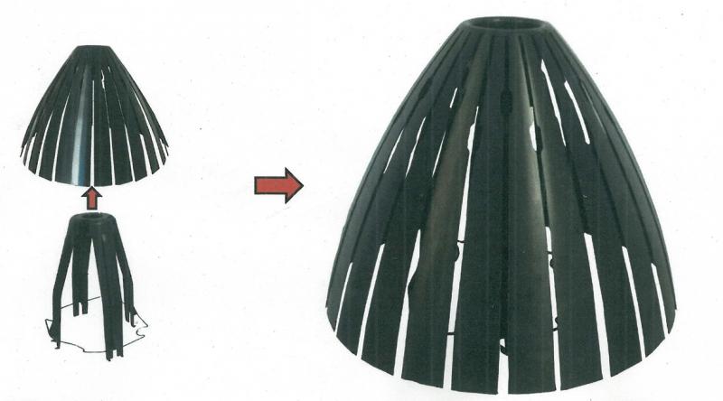 dissipateur de chaleur pour spot sachet de 5 ramspot ls. Black Bedroom Furniture Sets. Home Design Ideas