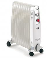radiateur à bain d'huile BHN 255  L x H x P : 525x640x235 m...