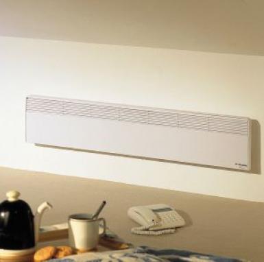 convecteur f 18 lectronique therm num rique hxlxp 250x665x78 blanc 500 w. Black Bedroom Furniture Sets. Home Design Ideas