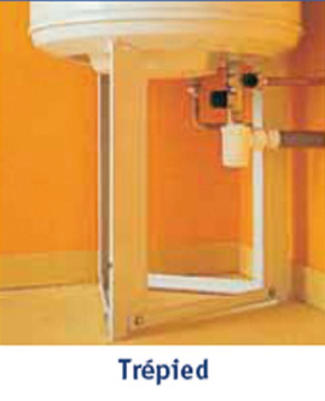 Tr pied pour chauffe eau verticaux de 100 200 l h 450 mm - Trepied chauffe eau ...