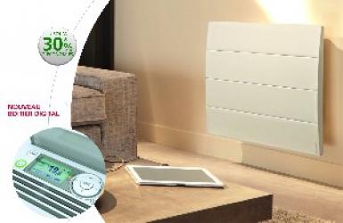 radiateur inertie calissia hxlxp 615 x 1121 x 140 mm horiz blanc 2000 w. Black Bedroom Furniture Sets. Home Design Ideas