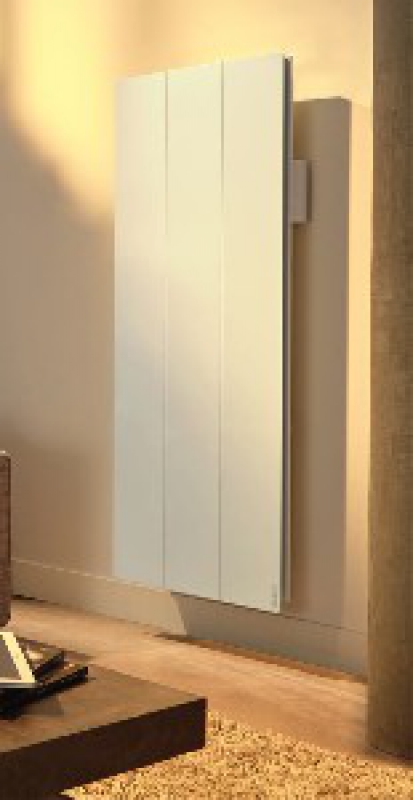 radiateur inertie calissia hxlxp 1130 x 470 x 120 mm vertical blanc 1000 w. Black Bedroom Furniture Sets. Home Design Ideas