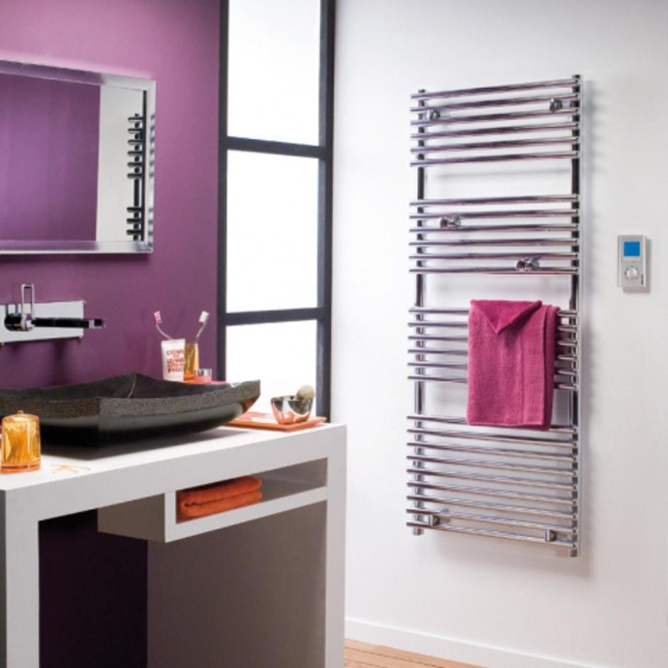 chauffage radiant infrarouge radiateur s che serviettes timelis chrome hxlxp 1764x555x110. Black Bedroom Furniture Sets. Home Design Ideas